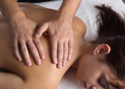 Massage Dos Décontraction Thérapeutique